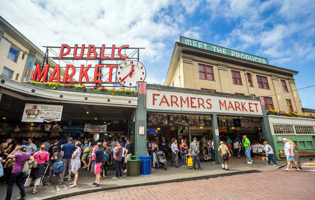 The 50 Best Things to Eat and Drink at Pike Place Market