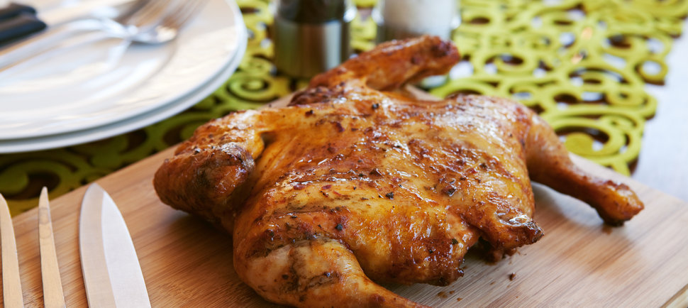 How to Cook a Whole Chicken in a Half-Hour. Can You Say Spatchcock?