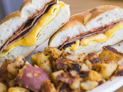 Pork Roll Egg and Cheese
