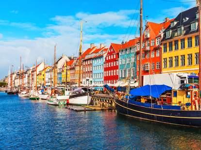 Cheap flight to Copenhagen