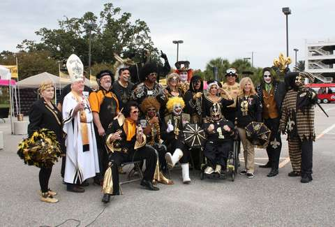 NOLA saints superfans