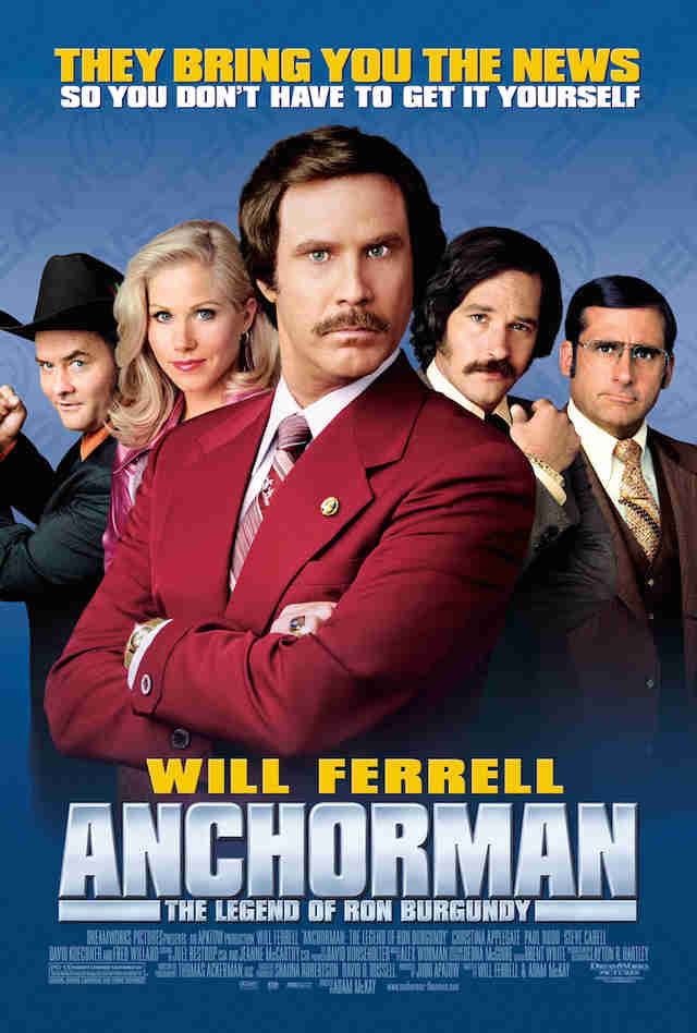 Anchorman movie poster