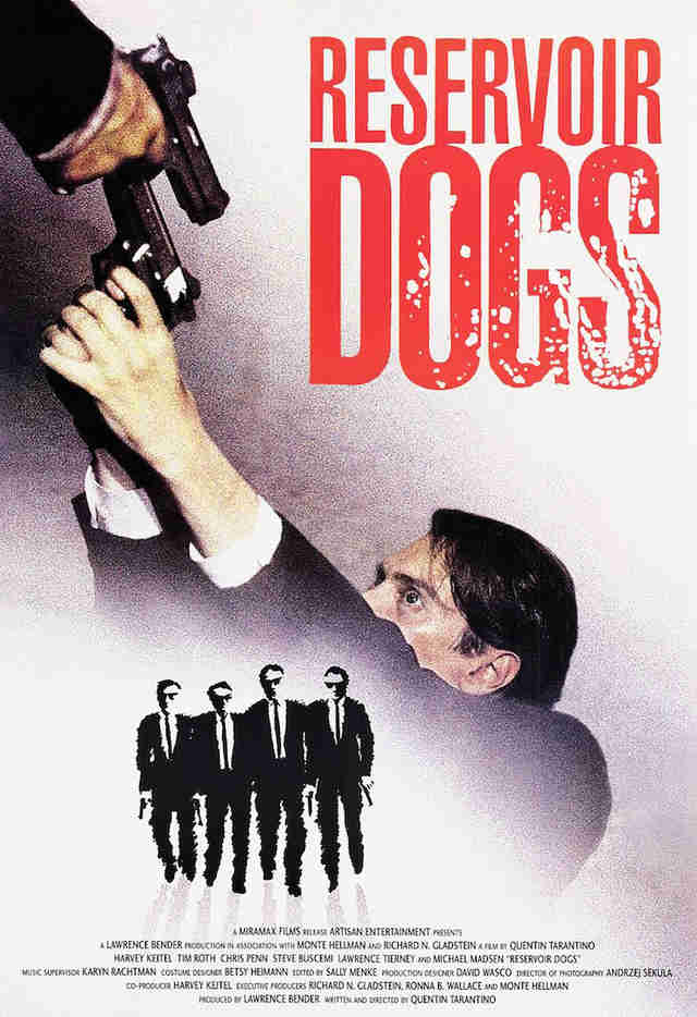 Reservoir Dogs Movie Poster Dorm Room