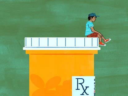 taking meds at age 12