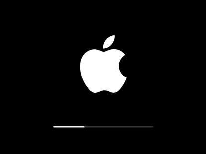 iphone ios installation screen