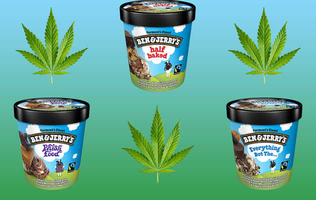 10 Ben & Jerry's Flavors That Should Really Have Weed in Them (But Don't)