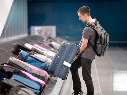 Baggage fees airport baggage claim
