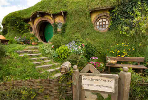 lord of the rings Bilbo's house