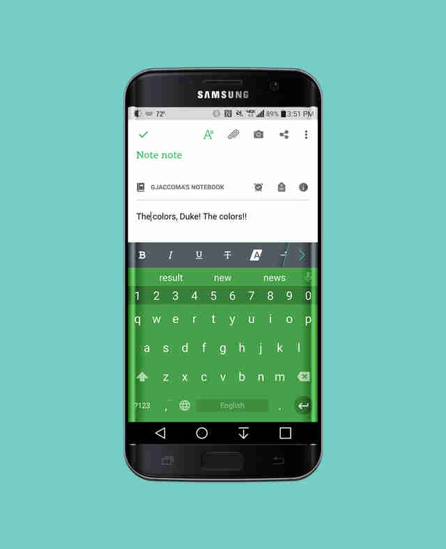 Chrooma Android keyboard