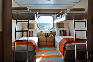 Cruise ship room