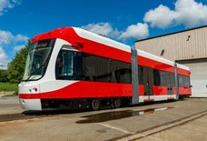 Public Transit Fans, Rejoice: The QLINE's First Car Has Arrived in Detroit