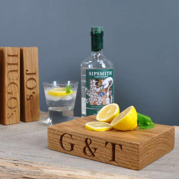 Gin and Tonic Chopping Block