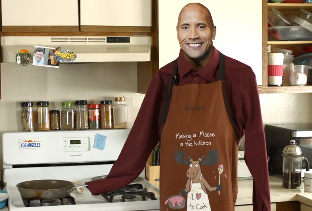 Here's What It'd Be Like if Dwayne 'The Rock' Johnson Was Your Roommate