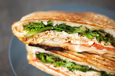 roasted chicken sandwich michou world class deli