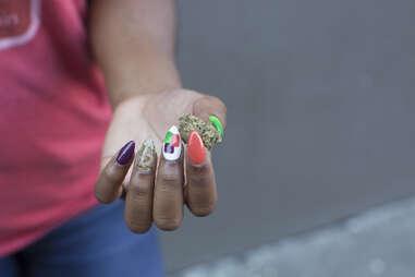 Cannabis Manicure