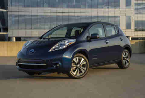2017 Nissan Leaf Electric Vehicle