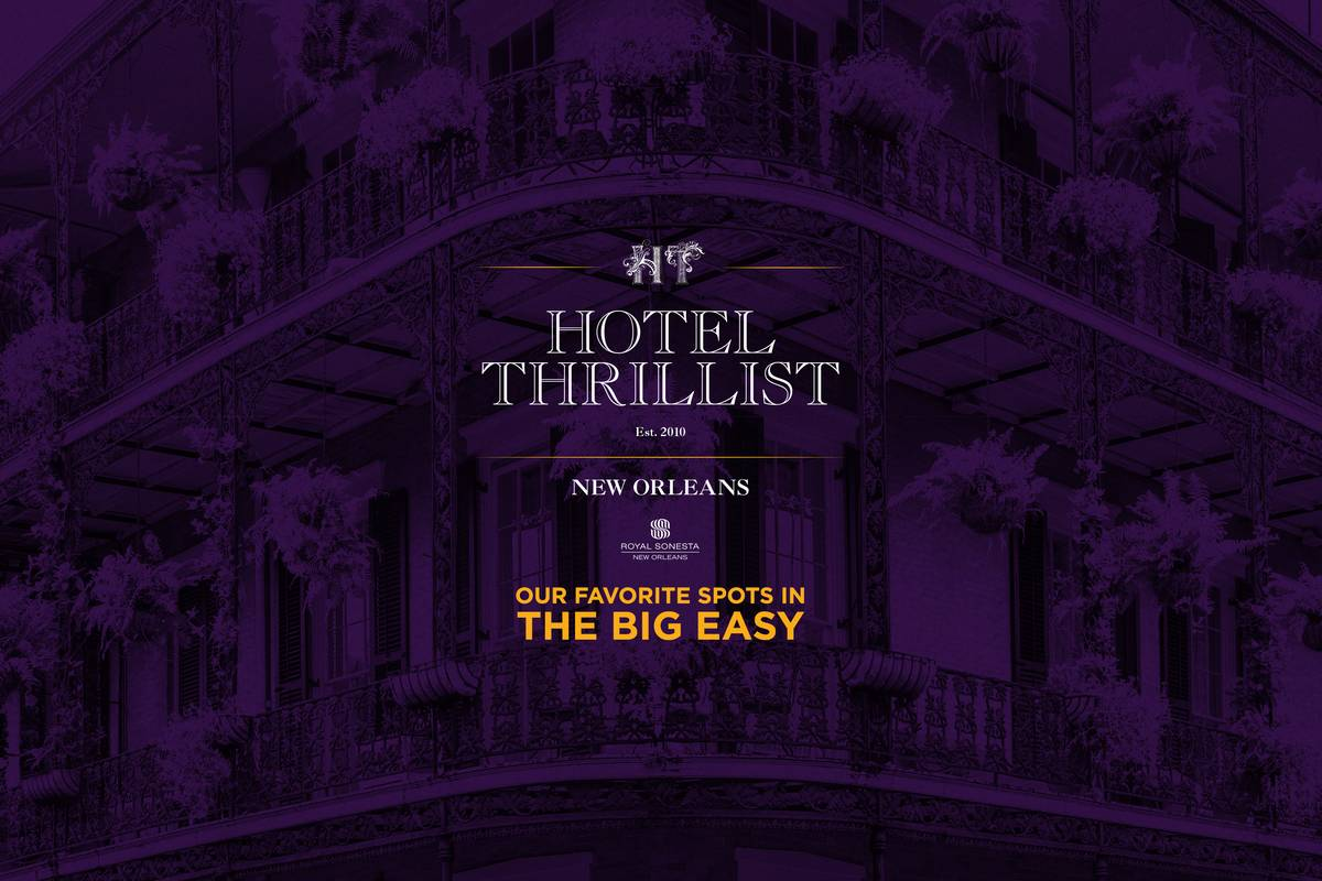 Hotel Thrillist New Orleans Map