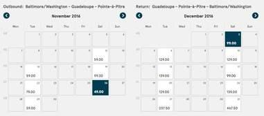 Cheap flights to Guadeloupe