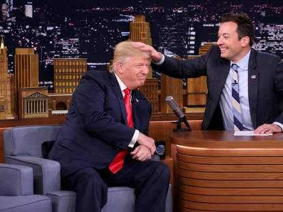 trump jimmy fallon tonight show