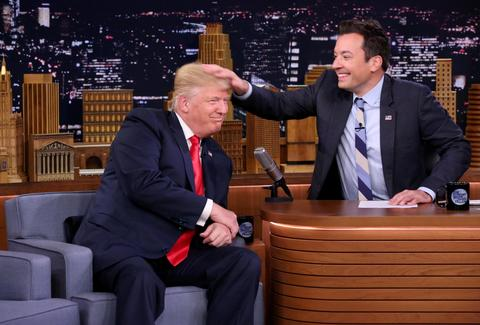 trump jimmy fallon tonight show
