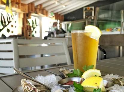 Seafood and oyster happy hour at Tangaroa Fish Market