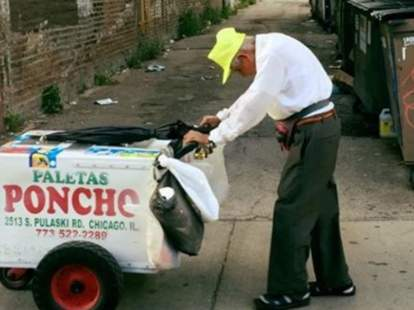 89-year-old Paleta Man