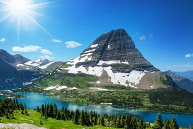 Montana glacier