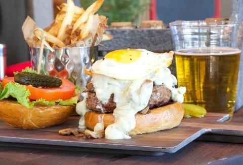 B Square Burgers & Booze in Fort Lauderdale Florida