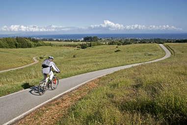Bike path UC Santa Cruz