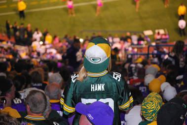 Packers fan in Minnesota