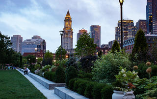 The Rose Kennedy Greenway Walk