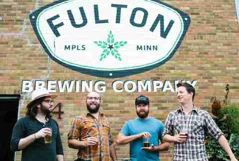 Fulton beer enjoyment