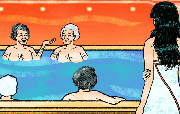 I Learned to Love My Body in a Room Full of Naked Korean Grandmothers