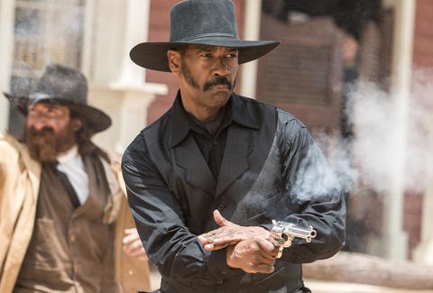 Denzel Washington in Magnificent Seven