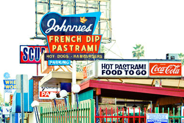 Johnnie's French Dip Pastrami