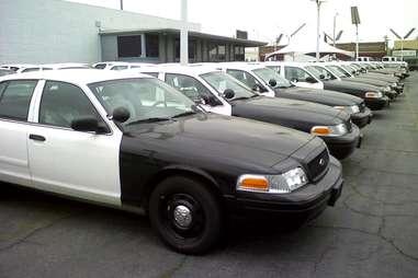 Cop Car Auction