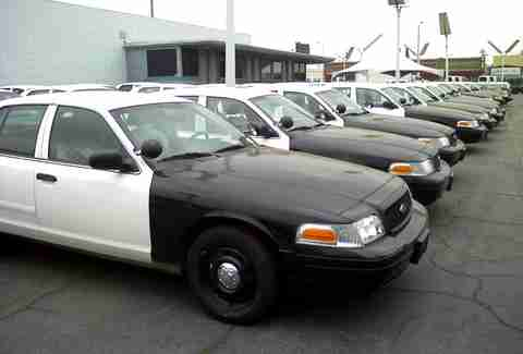 Cop Car Auction