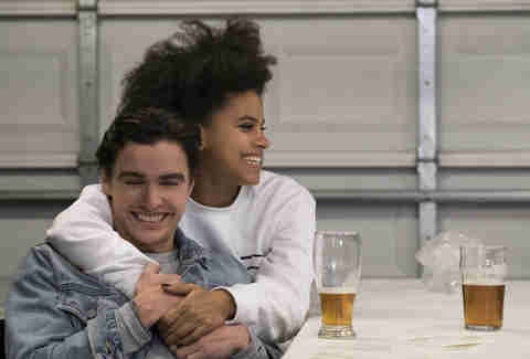 zazie beetz dave franco netflix easy review