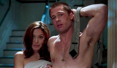 angelina jolie brad pitt sex scene mr and mrs smith