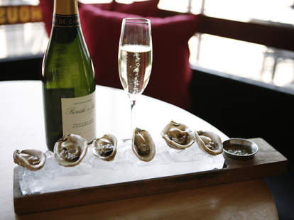 Frank's Oyster House and Champagne Parlor in Seattle WA