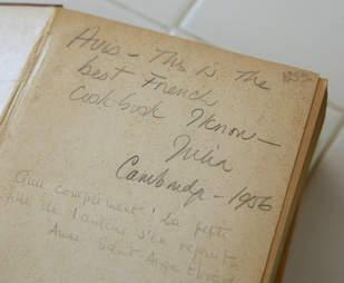 Julia Child Cookbook