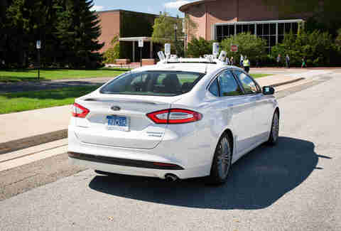 Ford Driverless Fusion