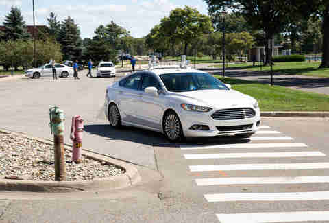 Ford's Self-Driving Fusion