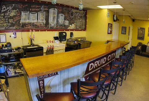 Druid City Brewing Co. Taproom