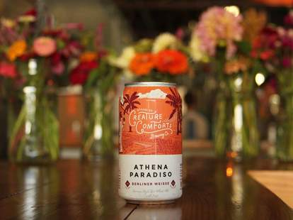 Craft beers at Creature Comforts Brewery in Athens, GA