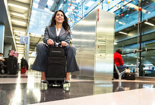 The Motorized Riding Suitcase Will Be a Hilarious Reality Very Soon