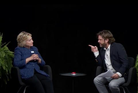 Between Two Ferns Hillary Clinton zach galifianakis