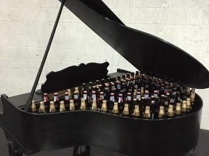 Grand piano cooler
