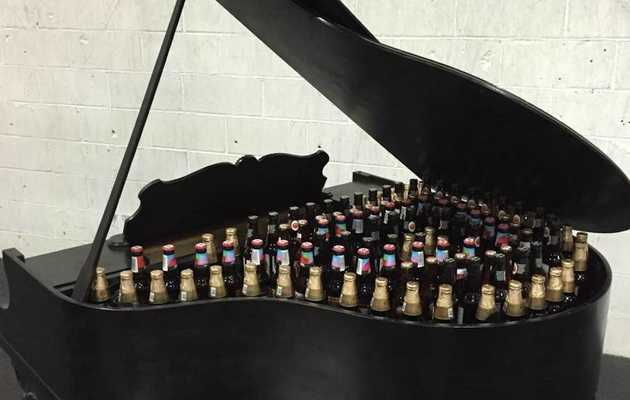 Quick! Somebody's Giving Away a Baby Grand Piano Cooler!