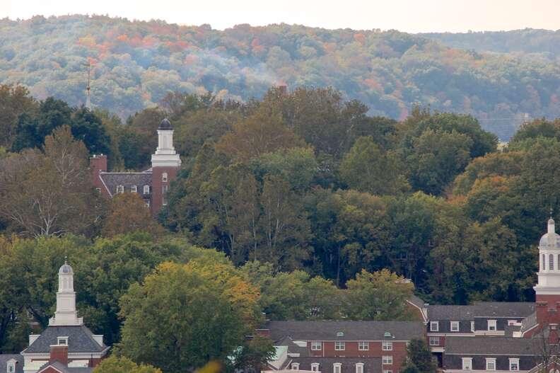 Ohio University campus athens